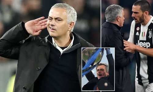 Mourinho rekindles Juventus rivalry for first time since Man Utd win