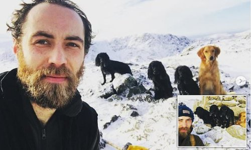 James Middleton shares photos after he was diagnosed with depression