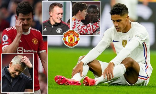 Solskjaer faces defensive headache after Maguire and Varane injuries