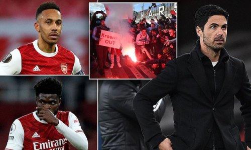 How Arsenal have hit 'rock bottom' under Mikel Arteta