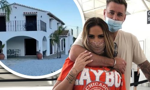Katie Price and beau Carl Woods 'swap red list Turkey for Spain'