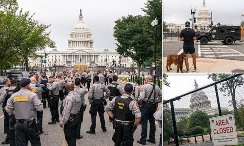 US Capitol braces for 'Justice for J6' rally TODAY