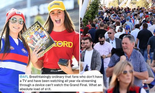 Footy fans slam Channel 7 for ad-filled AFL Grand Final coverage