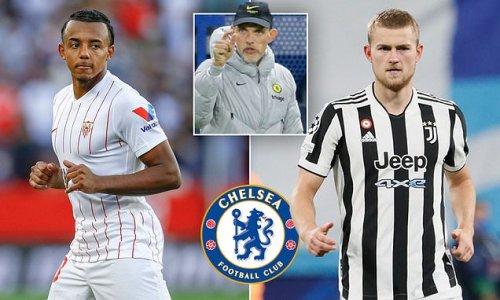 Chelsea 'considering moves for Jules Kounde and Matthijs de Ligt'