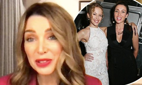 Dannii Minogue says there's a buzz in Melbourne as Kylie moves home