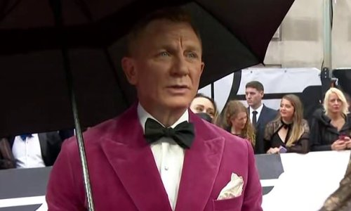 Daniel Craig's prickly red carpet interview with Today journalist