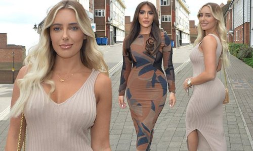 TOWIE's Amber Turner and Chloe Brockett film 'exciting' project