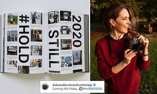 Kate Middleton shares a glimpse of the book Hold Still