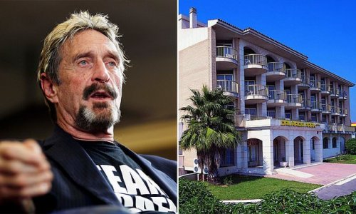 McAfee's final hideout: Tech outlaw holed up in Spanish 'ghost hotel'