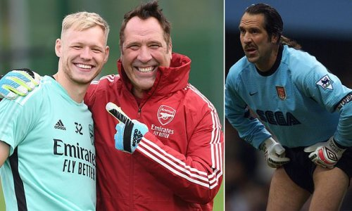 Arsenal legend Seaman joins in training with new No 1 Ramsdale