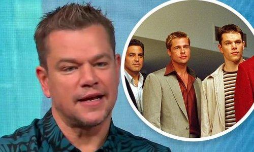 Matt Damon stops by Good Morning America to promote Stillwater