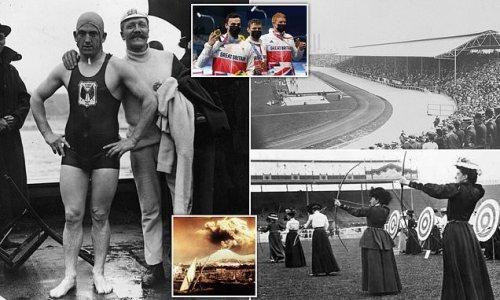 1908 Olympics were held in London due to eruption of Mount Vesuvius