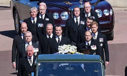 Prince Philip's loyal servants follow his coffin