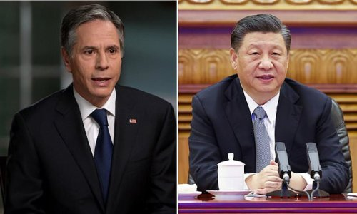Secretary of State says China is ramping up its foreign aggression