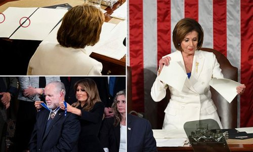 Why Nancy Pelosi ripped up Trump's State of the Union speech