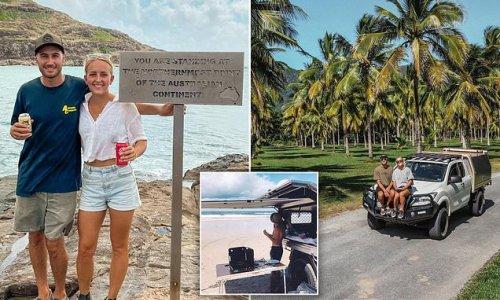 Couple break down the money needed to travel around Australia