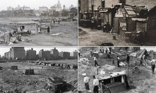 When shantytowns took over NYC's Central Park during the Depression