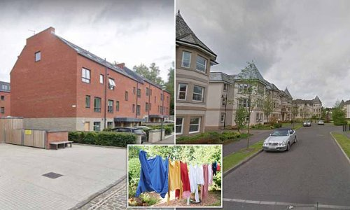 Housing bosses BAN residents in Edinburgh from hanging out washing