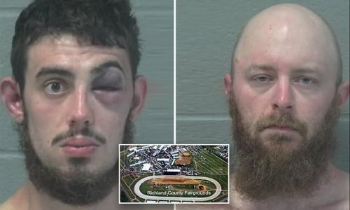 Two men 'tried to steal beer wedding reception' and ended up battered