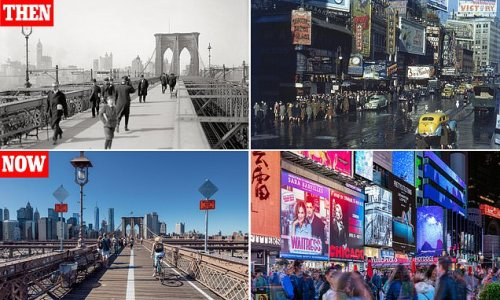 New York - then and now, in pictures