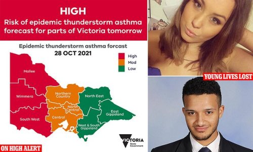 Deadly 'thunderstorm asthma' that killed 10 in 2016 to strike Victoria