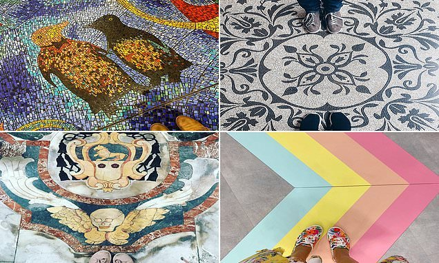 The world's most Instagrammable FLOORS revealed