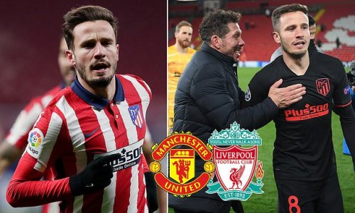 Saul Niguez's representatives 'flying to England to finalise move'