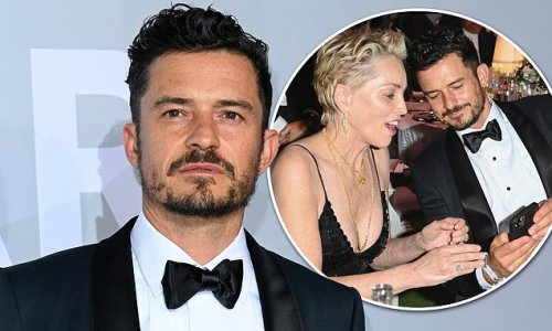 Orlando Bloom looks handsome at the 27th amfAR Gala in Cannes