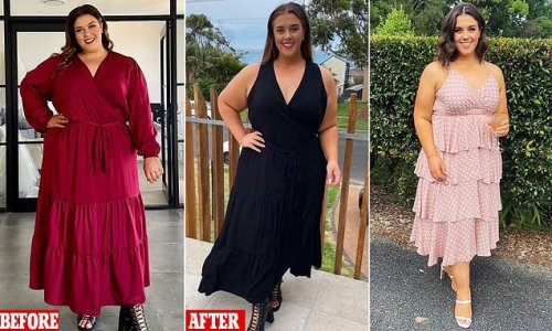Woman, 27, reveals how she dropped 56kg in only 12 months