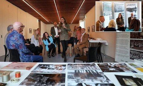 Duchess of Cambridge and Judge Rinder mett 'Windermere children'