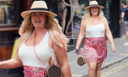 Gemma Collins proudly shows off her impressive 3.5st weight loss