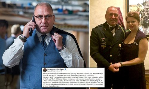 Rep. Clay Higgins echoes conspiracy, says he and family all have Covid