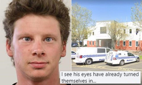 Police alert for cross-eyed-man sends internet into a frenzy