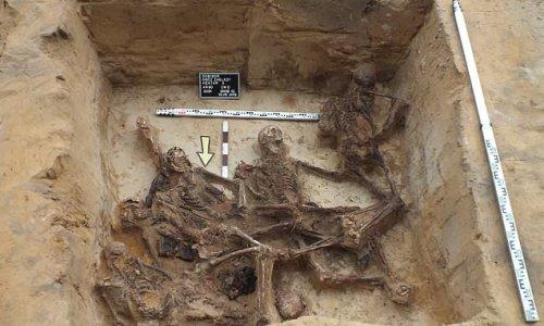 Skeletal remains at Sobibór death camp identified as Ashkenazi Jews