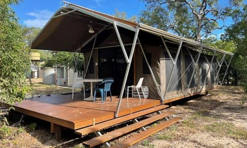 Man spends $280,000 on a tent he can't even visit