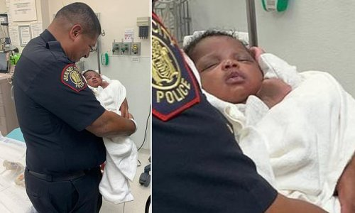 Hero Jersey City cop catches baby hurled off second-story balcony