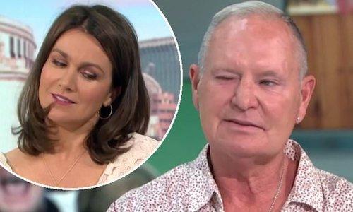 Paul 'Gazza' Gascoigne gives Susanna Reid a WINK in cheeky exchange