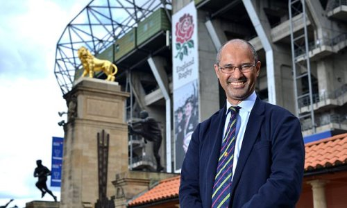 New RFU chair Ilube reveals his ambitious plans to drive game forward