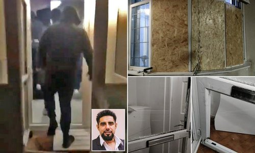 Masked mob break into Muslim's home for 'disrespecting Palestine'
