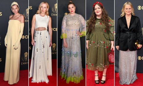 DailyMail.com's picks for the worst dressed stars of the 2021 Emmys