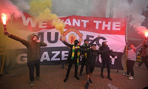 Manchester United 'on red alert for major protest from supporters'