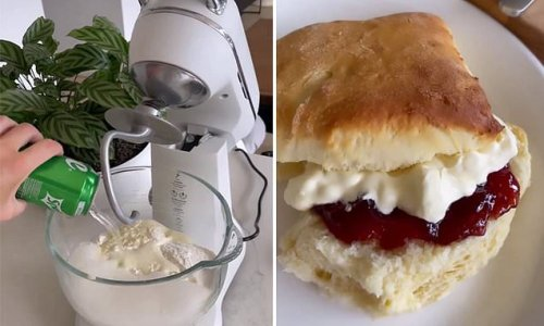 The four-ingredient fluffy scone recipe you need to try NOW
