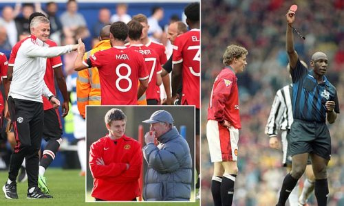 Solskjaer admits no regrets over infamous red card against Newcastle