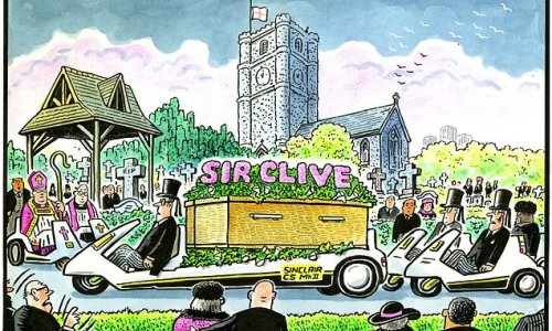 PAUL THOMAS on... Sir Clive Sinclair dying