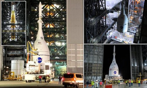 NASA's $12.2 billion Orion spaceship is ready to be attached to rocket