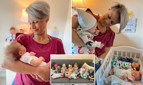 Divorced mom spends thousands on dolls after kids moved in with dad