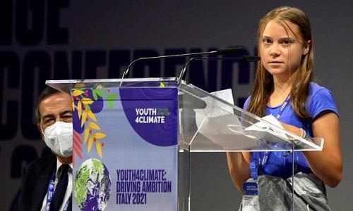Greta Thunberg mocks world leaders as she addresses climate summit
