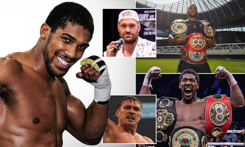 Anthony Joshua opens up on life after boxing