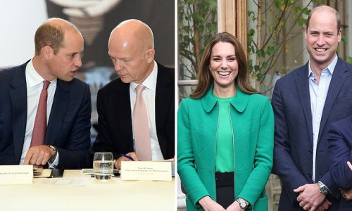 William Hague quits House of Lords to focus on Cambridges' charity