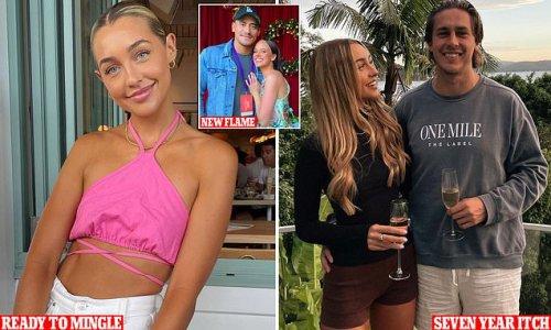 'Heartbroken' model raises eyebrows with new romance after shock split